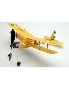 Aeromodel zbor liber Aviator Biplane