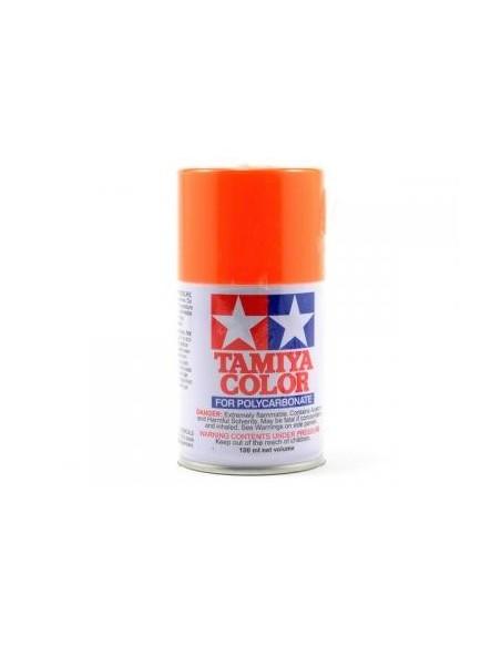 Vopsea Lexan Tamiya PS 24 Fluorescent Orange