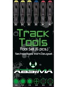 Set surubelnite Absima Track Tools 6 buc