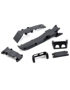 Set Skidplate Traxxas 1/16