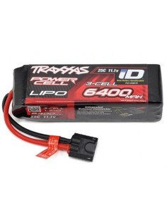 "Traxxas 3S ""Power Cell"" 25C LiPo Battery 11.1V/6400mAh w/iD Traxxas Connector"
