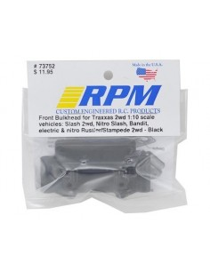 RPM Bulkhead fata Traxxas 2WD (Albastru)