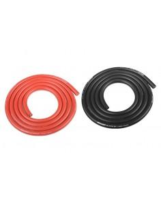 Cablu Siliconic 12AWG Ultra V+ Foarte Flexibl 2x1m (Negru si Rosu)