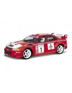 Caroserie Lexan HPI MITSUBISHI LANCER EVOLUTION VI WRC (200mm)