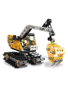 MECCANO - Excavator and Bulldozer 2-in-1