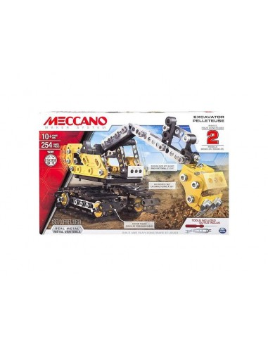 MECCANO - Excavator and Bulldozer 2-in-1