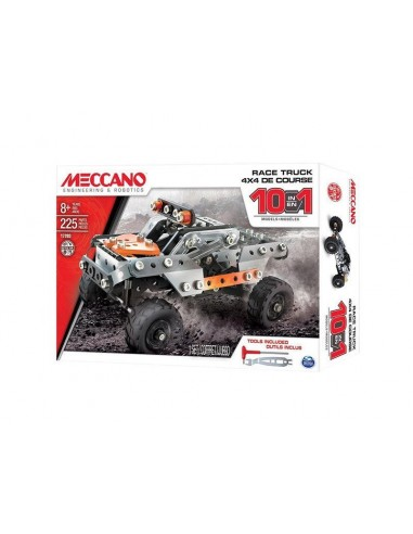 MECCANO - Kit constructie Race Truck 10 Model Set