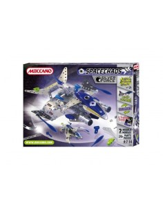 MECCANO Kit Constructie Space Chaos - Silver Force Destroyer