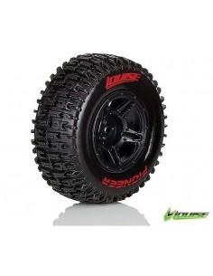 Louise SC-Pioneer Short Course Tire Soft Compound/ Black Rim