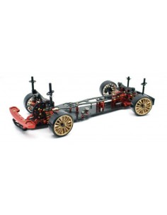 "Kit automodel 1:10 EP Drift Onroad ""DRR-01 ROSU"" 2WD"