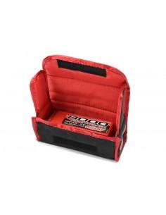 Lipo Safe Bag pentru 2buc acumulatori LIPO 2S - Team Corally