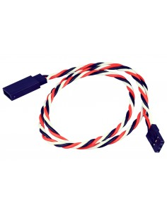 Cablu Prelungire Servo/ESC Yuki UNI (45cm/rasucit/bulk)