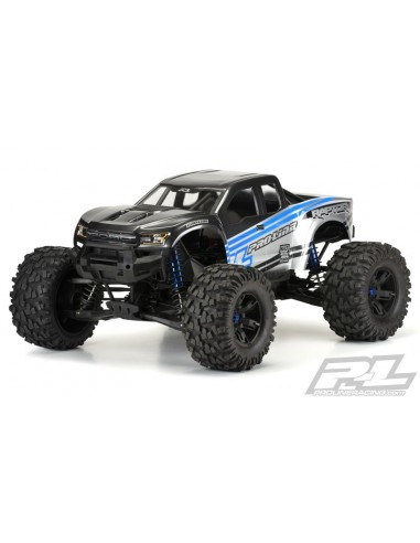 Proline 2017 Ford F-150 Raptor X-MAXX True Scale Nevopsita Predecupata