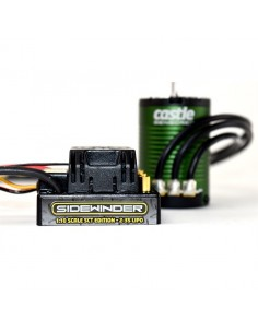 Combo Castle Creations Sidewinder SCT Waterproof cu Motor 3800KV Sensored