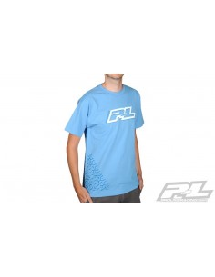 Tricou Pro-Line Stacked Blue T-Shirt - Small