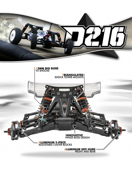 Automodel KIT HB D216 1/10 Electric 2WD Buggy