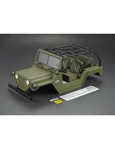 Caroserie Killerbody Jeep Warrior Crawler 1/10 (Verde Militar /All In)