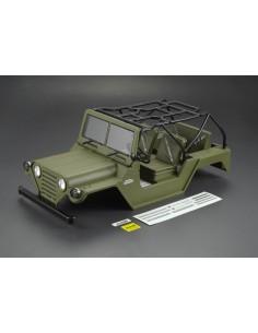 Killerbody 1/10 Crawler Jeep WARRIOR Matte Military Green (Printed)