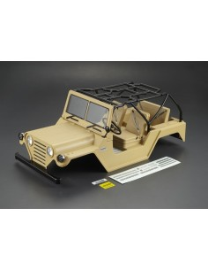 Caroserie Killerbody Jeep Warrior Crawler 1/10 (Military Desert /All In)