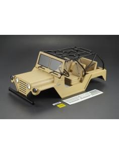 Killerbody 1/10 Crawler Jeep WARRIOR Matte Military Desert (Printed)