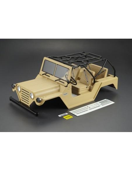 Caroserie Killerbody Jeep Warrior Crawler 1/10 (Verde Militar /All In)