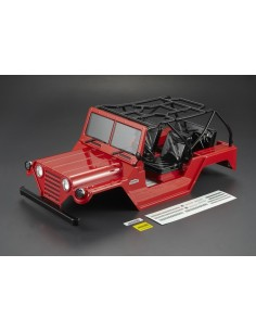 Caroserie Killerbody Jeep Warrior Crawler 1/10 (Rosu/All In)