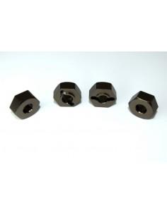 Set Hexuri 12mm Metalice Absima (4 buc)