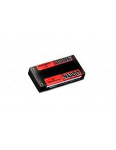 Acumulator LiPo 7.4V-110C 3800mAh Shorty Pack Absima