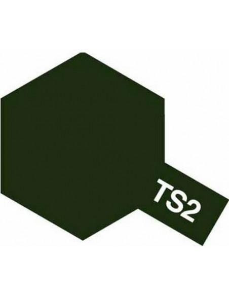 Spray Vopsea Acrylica Tamiya TS-43 Verde Racing (pentru plastic)