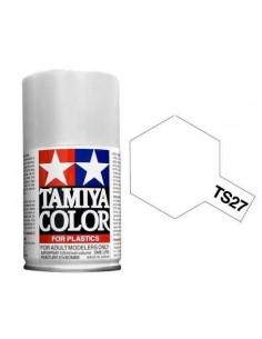 Spray Vopsea Acrylica Tamiya TS-27 Alb Mat (pentru plastic)