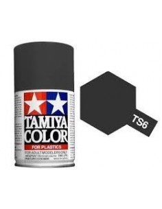 Spray Vopsea Acrylica Tamiya TS-6 Negru Mat (pentru plastic)