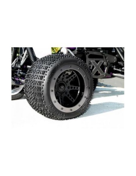 Jante Axial 8 Spoke cu Beadlock Monster Truck (NEGRE)
