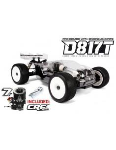 HB D817T Pro Combo (KIT + Motor CRF .21 7p V3 WS + Evacuare)