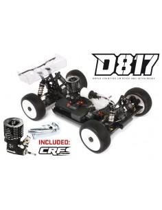 HB D817 Pro Combo (KIT + Motor CRF .21 7p V3 WS + Evacuare)