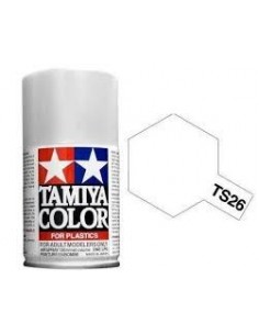 Spray Vopsea Acrylica Tamiya TS-26 Alb Pur (pentru plastic)
