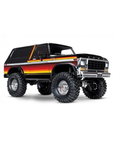 Automodel Traxxas TRX-4 Ford Bronco Scale 1/10 Crawler TQi (Sunset/Rosu)