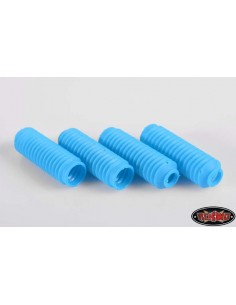RC4WD Super Scale Shock Boot (Blue/4pcs)