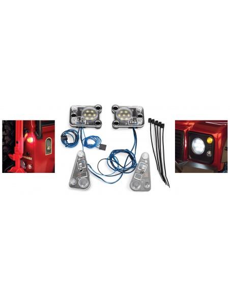 Set Sistem Complet Lumini Traxxas TRX-4 (LED)