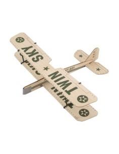 Aeromodel zbor liber - J3 Piper