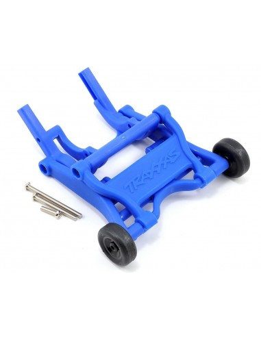 Wheelie Bar pentru Traxxas 1/10 montat albastru