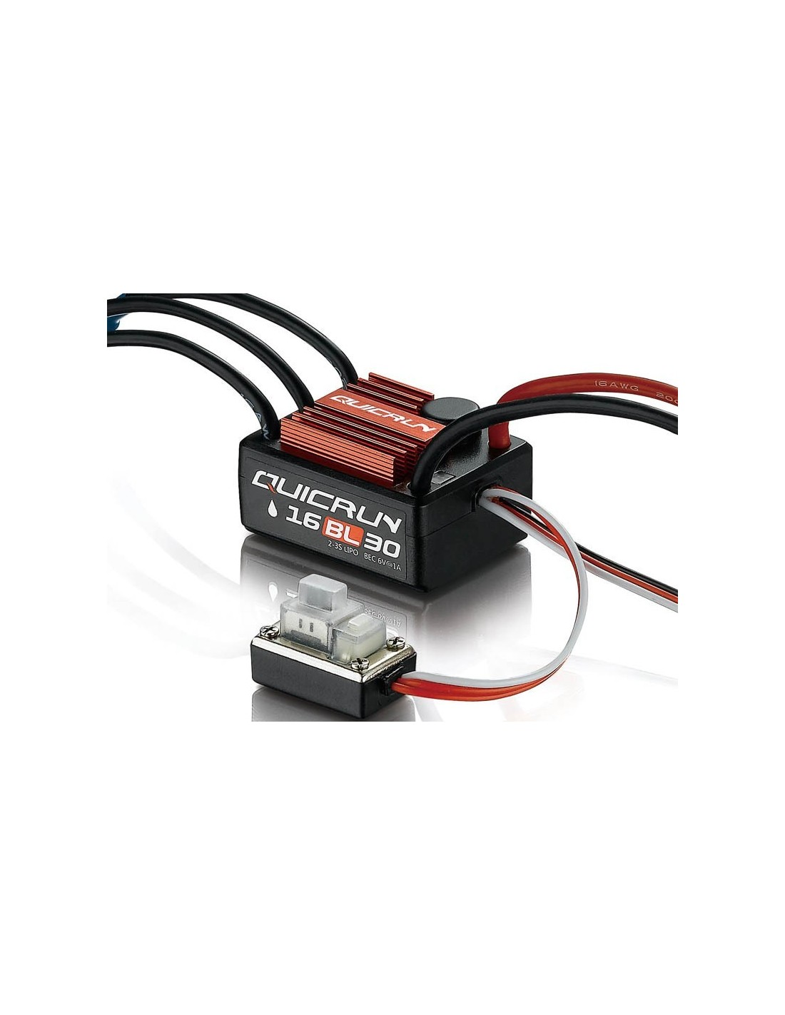 Hobbywing Quicrun Wp16bl30 Brushless Esc 30a For 116 Wiring