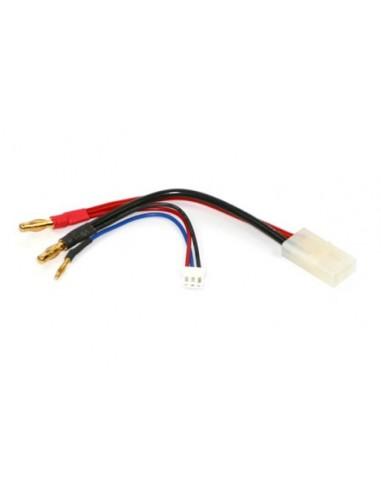 Cablu de Incarcare pentru LiPo Hardcase 2S Ultra Plug cu Balancer (Tamiya)