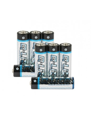 Set Baterii Alkaline AA Q-Line (8 buc)