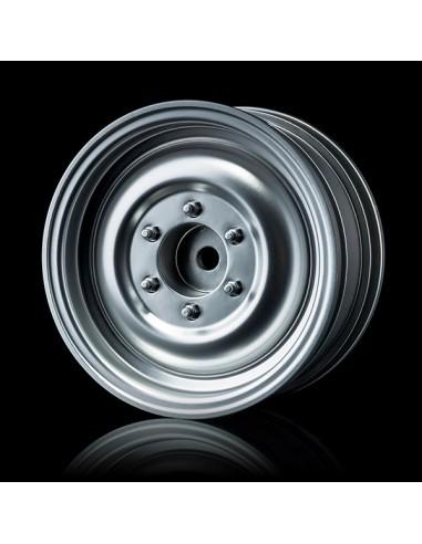"""Set Jante Flat silver 60D 1.9"""" (+5offset/4buc)"""