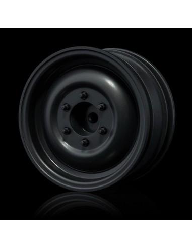 "Set Jante Flat silver 60D 1.9"" (+5offset/4pcs)"