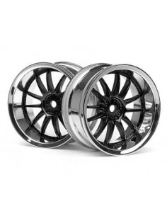 Jante WORK XSA 02C WHEEL 26mm CHROME/BLACK (6mm offset)