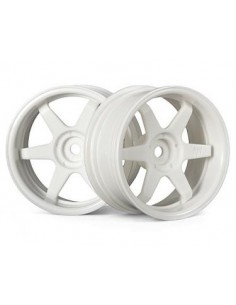 Jante TE37 WHEEL 26mm WHITE (6mm offset)