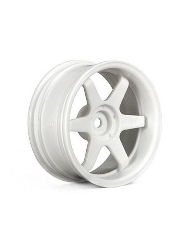 Jante TE37 WHEEL 26mm WHITE (6mm offset)