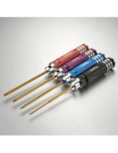 Set Imbusuri TFL 1,5/2,0/2,5/3,0mm Colorate