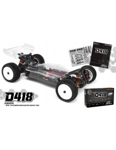 Automodel HB D418 1/10 4WD Electric Competition Buggy KIT